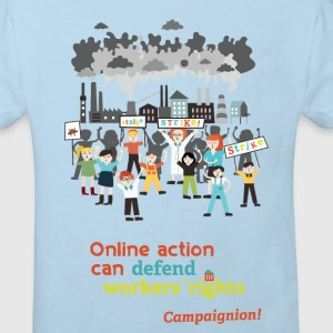 Workers' rights light Shirts - Kids' Organic T-shirt