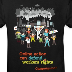 Workers' rights Shirts - Kids' Organic T-shirt
