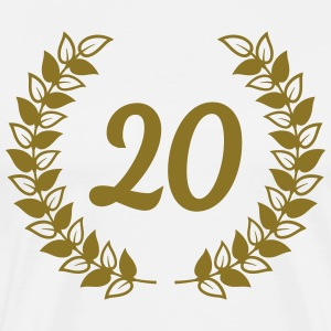 anniversary birthday 20 twenty T-Shirts - Men's Premium T-Shirt