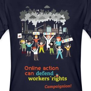 Workers' rights T-Shirts - Men's Organic T-shirt