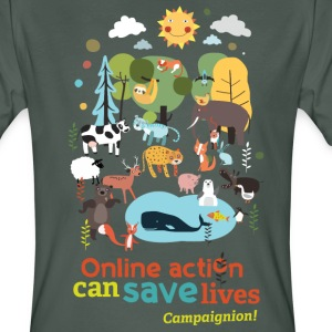 Save Animals T-Shirts - Men's Organic T-shirt