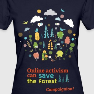 Save the forest dark T-Shirts - Women's Organic T-shirt