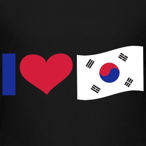 I Love South Korea, cairaart.com T-Shirts - Teenager Premium T-Shirt