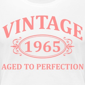 Vintage 1965 Aged to Perfection T-Shirts - Women's Premium T-Shirt