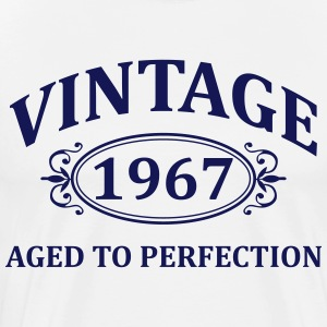 Vintage 1967 Aged to Perfection T-Shirts - Men's Premium T-Shirt