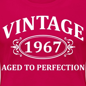 Vintage 1967 Aged to Perfection T-Shirts - Women's Premium T-Shirt