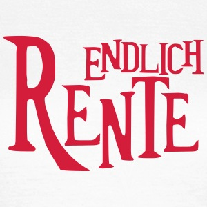 Rente Rentner Pension Ruhestand T-Shirts - Frauen T-Shirt