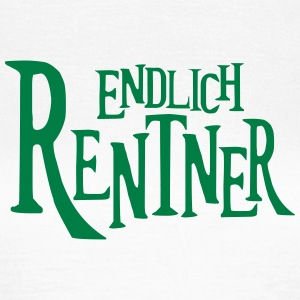 Rente Rentner Pension Ruhestand Altersrente T-Shirts - Frauen T-Shirt