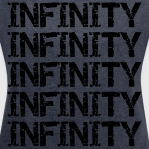 infinity - bananaharvest T-Shirts - Women's T-shirt with rolled up sleeves
