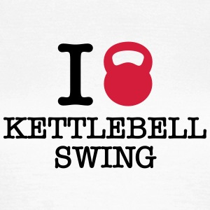 I (Love) Kettlebell Swing T-Shirts - Women's T-Shirt