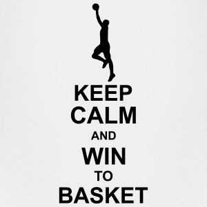 keep_calm_and_win_to_basket_g1 T-shirts - Premium-T-shirt barn