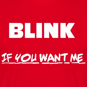 Blink T-shirts - Herre-T-shirt