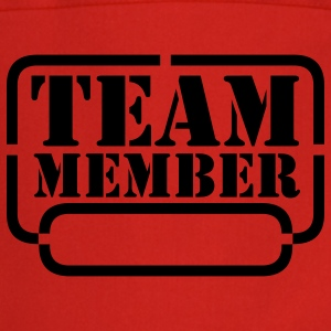 name your team member Forklæder - Forklæde