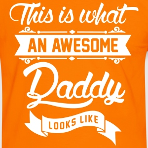 This is what an awesome Daddy looks like T-Shirts - Männer Kontrast-T-Shirt