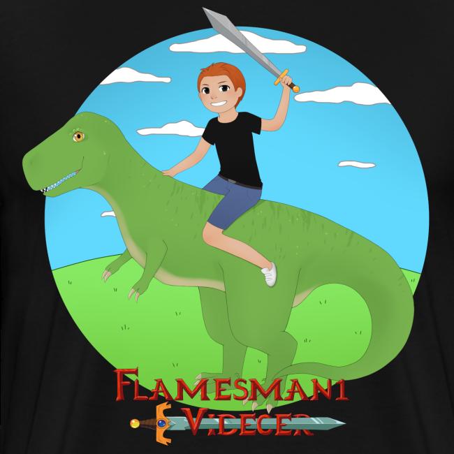 Flamesman1 på Dino (unisex)