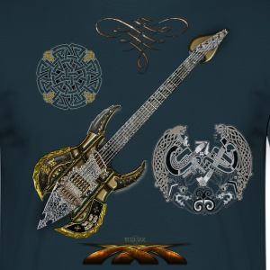 Celtic Guitar - T-shirt Homme