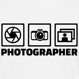 Photographer T-Shirts - Männer T-Shirt