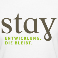 Motiv ~ Organic Frauen Shirt - weiß