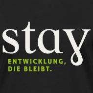 Motiv ~ Organic Frauen Shirt  - schwarz