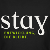 Motiv ~ Organic Herren Shirt - schwarz