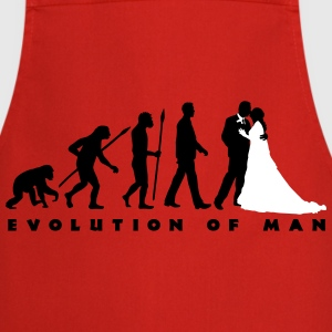 evolution_of_man_wedding_b_2c Schürzen - Kochschürze