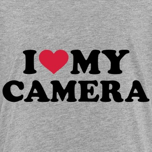 I love my camera T-Shirts - Kinder Premium T-Shirt