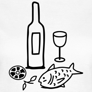 Fish & Wine - Tapas T-shirts - Vrouwen T-shirt