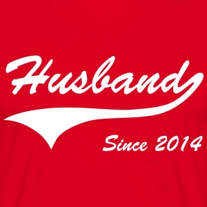 Husband Since 2014 T-Shirts - Men's T-Shirt