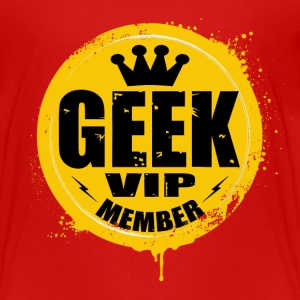 geek vip member Shirts - Teenage Premium T-Shirt