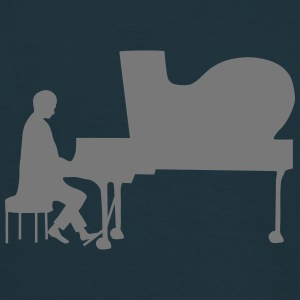 pianist T-shirts - Herre-T-shirt