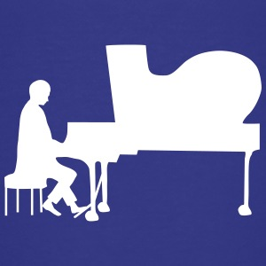 pianist Shirts - Teenage Premium T-Shirt