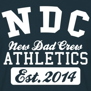 New Dad Crew Athletics 2014 T-shirts - Mannen T-shirt