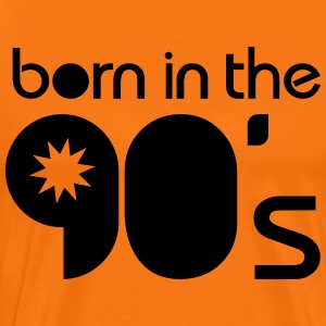 born in the 90´s T-skjorter - Premium T-skjorte for menn