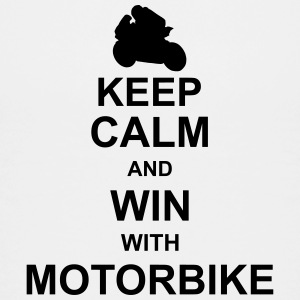 keep_calm_and_win_with_motorbyke_g1 Skjorter - Premium T-skjorte for tenåringer