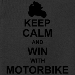 keep_calm_and_win_with_motorbyke_g1 Bluzy - Rozpinana bluza dziecięca z kapturem Premium
