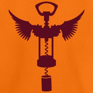 A corkscrew with wings  Shirts - Kids' Premium T-Shirt