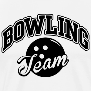 Bowling Team T-Shirts - Men's Premium T-Shirt