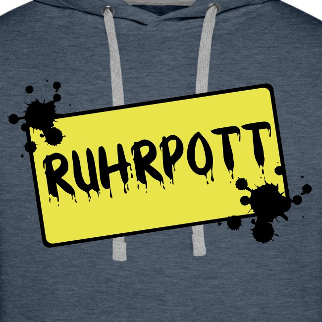 Ortsschild Ruhrpott Pullover