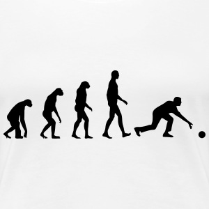 Evolution Bowling T-Shirts - Frauen Premium T-Shirt