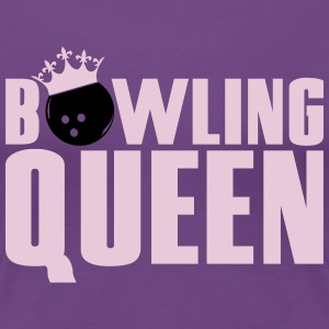 Bowling Queen T-Shirts - Frauen Premium T-Shirt