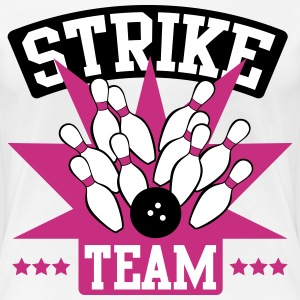 Bowling Strike Team T-Shirts - Frauen Premium T-Shirt