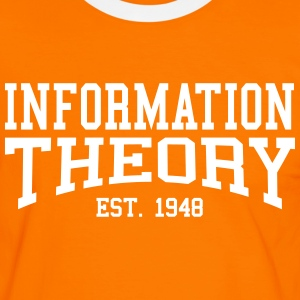 Information Theory - Est. 1948 (Over-Under) T-Shirts - Men's Ringer Shirt