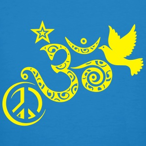 Peace Om Angels - T-shirt bio Homme