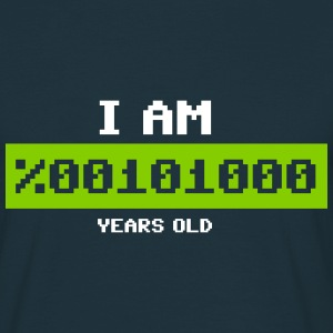 Geek 40 Birthday T-Shirts - Men's T-Shirt
