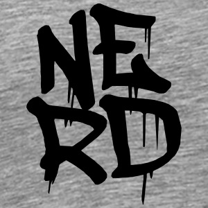 Cool Nerd Graffiti T-Shirts - Men's Premium T-Shirt