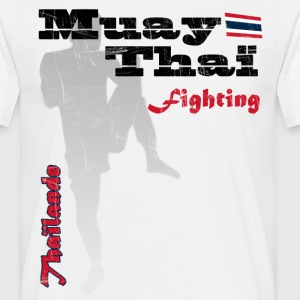 muay thai fighting Tee shirts - T-shirt Homme