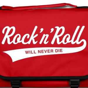 Rock 'n' Roll will never die Bags & Backpacks - Shoulder Bag