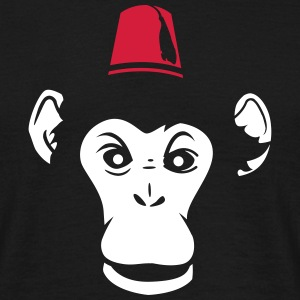 monkey hat Tee shirts - T-shirt Homme