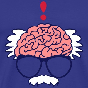 Brain of a professor T-Shirts - Men's Premium T-Shirt