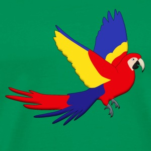 Macaw red fly E T-Shirts - Men's Premium T-Shirt